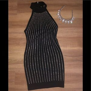 Strass diamond clubbing dress